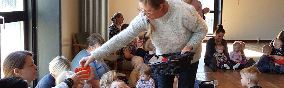 Påskegudstjeneste for dagplejebørn