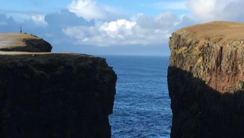 Pilgrimsvandring på Shetlandsøerne
