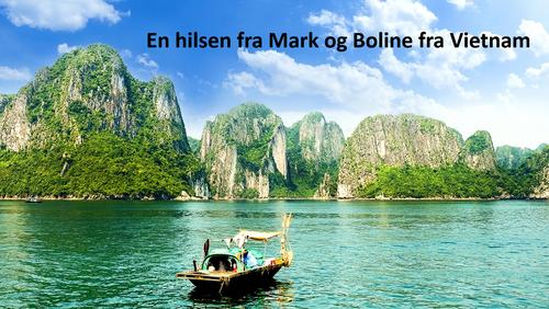 Mark og Boline fra Vietnam