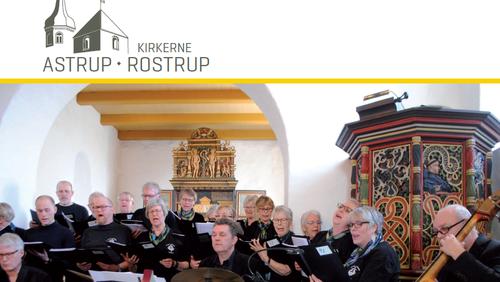 Kirkeblad Astrup-Rostrup Maj-August 2019