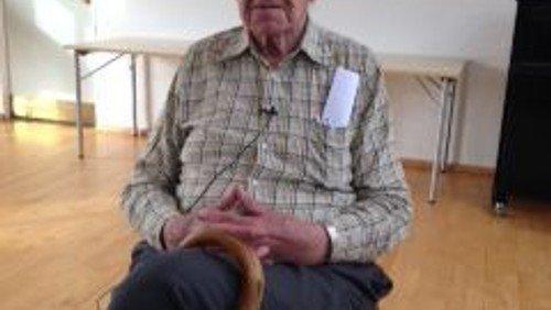 Veloplagt 100-årig gav muntert foredrag
