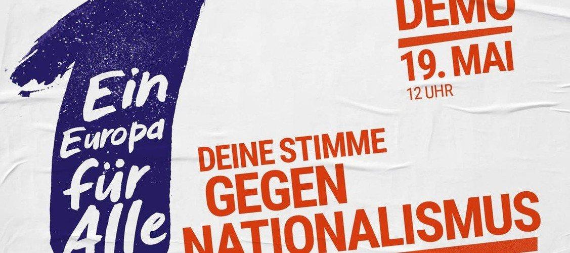 Aufruf zur Demo am 19. Mai : Ein Europa für Alle