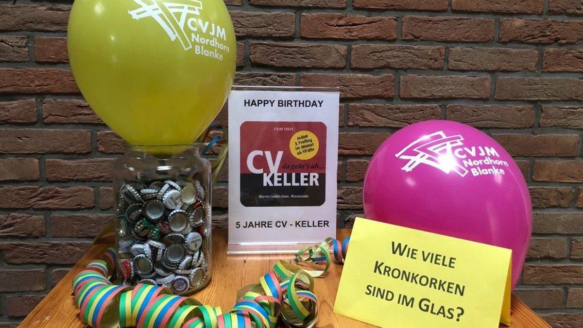 CV-Keller besteht seit fünf Jahren