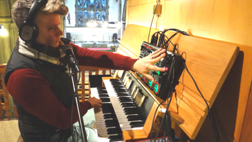 Geistliche Abendmusik: Orgel & Electronics mit Pan Hulme