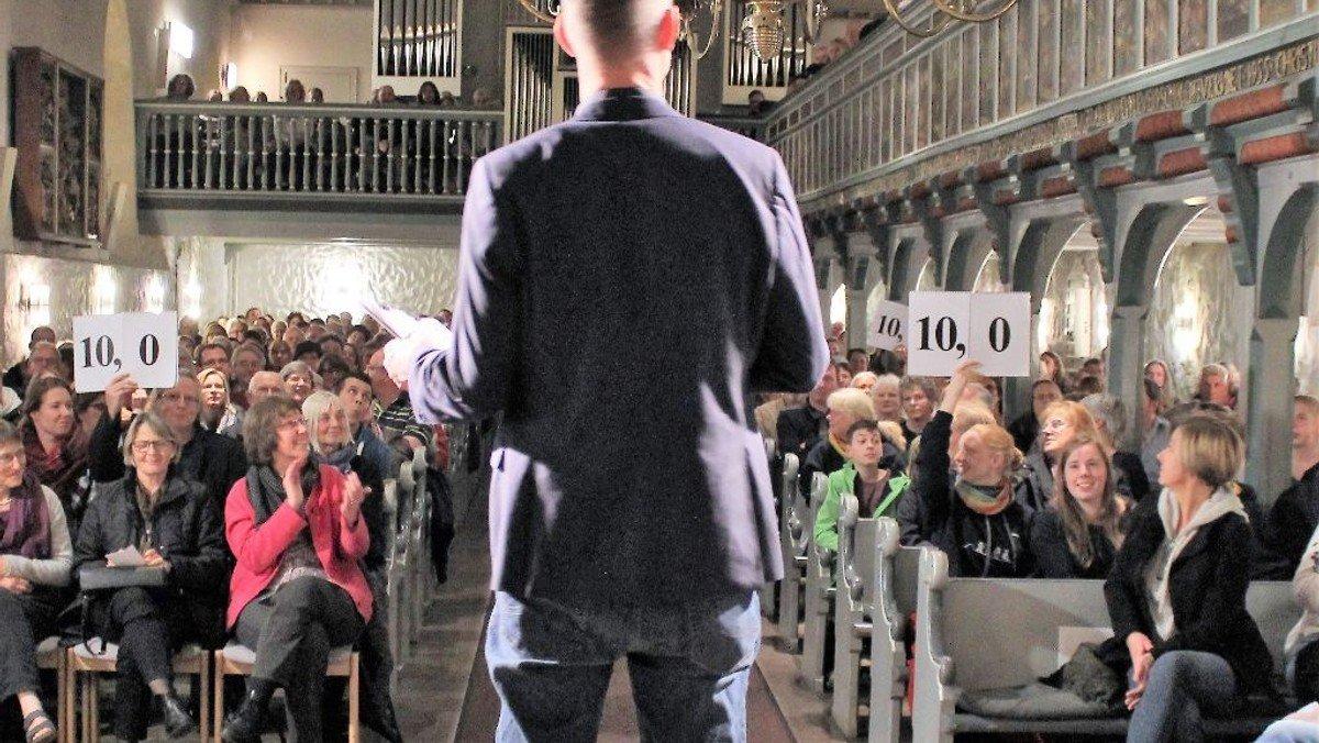 Zweiter Reformations-Slam in der Heider St. Jürgen-Kirche