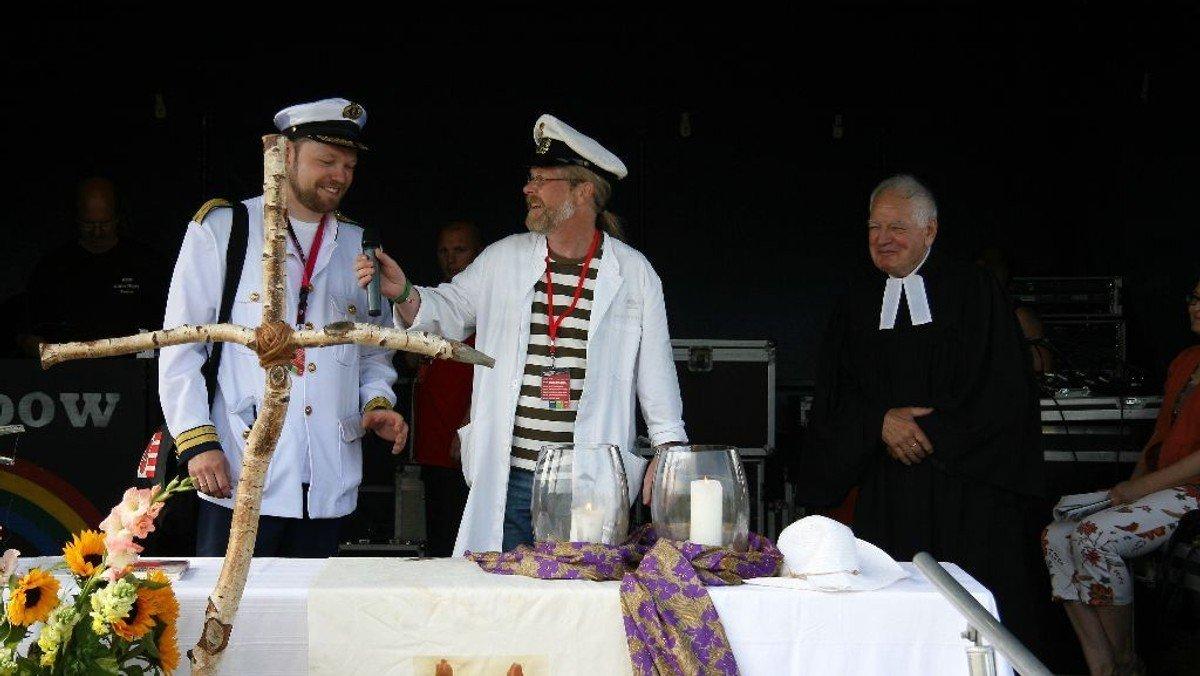 Wattgottesdienst zur Eröffnung der Wattolümpiade