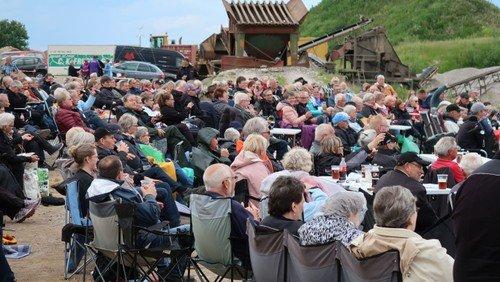 700 til koncert i Gøttrup Grusgrav