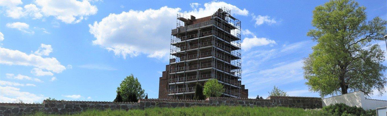 Reparation af kirketårn
