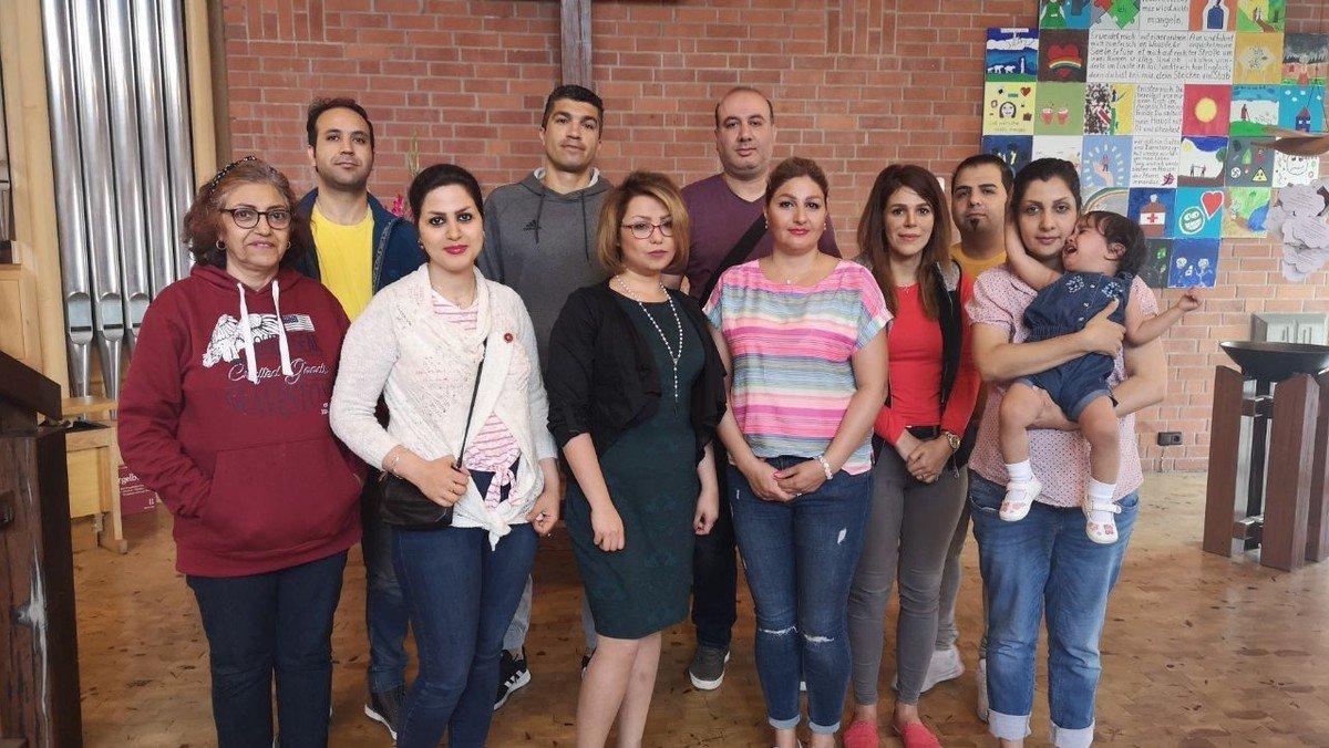 Iranische Christen in unserer Kirchengemeinde