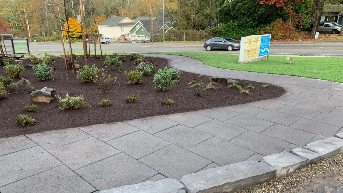 Good Shepherd Landscaping Completed
