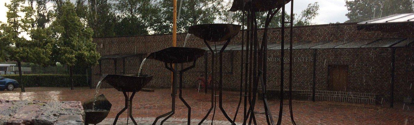 .. og takke for regnen, som vander mit land,