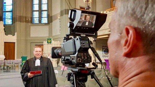 TV-Gottesdienst in der Philipp-Melanchthon-Kirche am 1. September