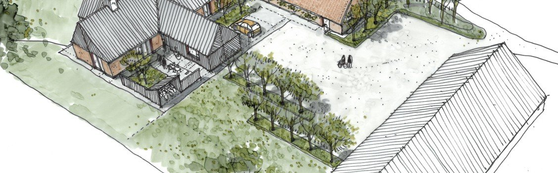 Nørholm Sogn får flot, moderne præstegård i 2020