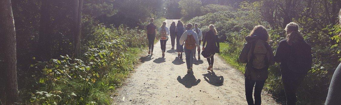 Pilgrimsvandring til Rubjerg Knude for konfirmander 2019