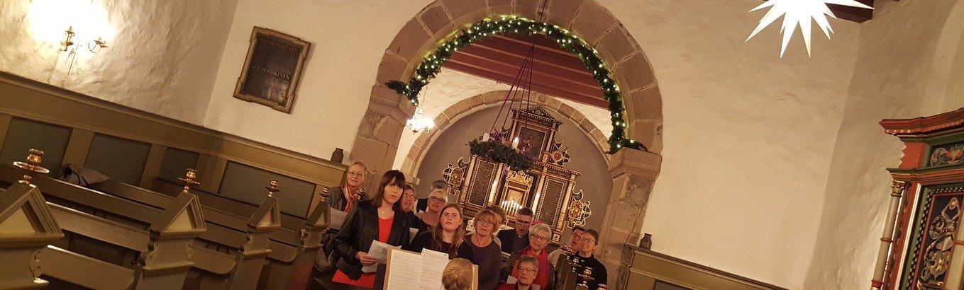 Kettrup-Gøttrup: Julekor klar til at øve