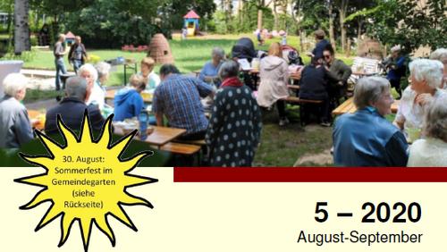 Gemeindebrief August/ September erschienen!