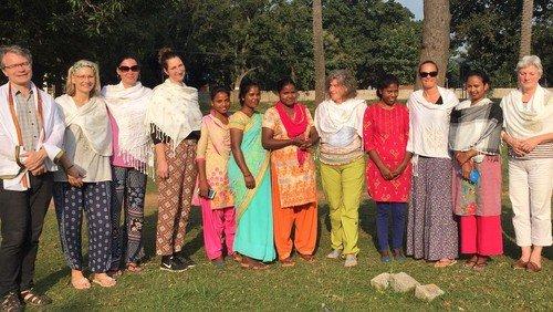 Kita-Erzieherinnen in Indien - Pfarrer Schöntube berichtet im Blog