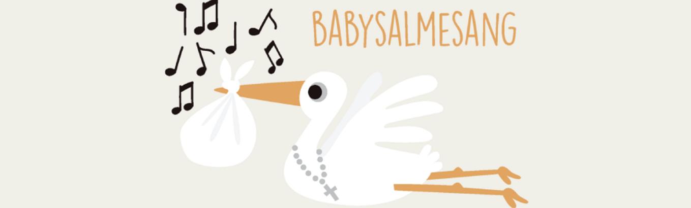 Sang og musik med din baby i Bethlehemskirken - otte torsdage kl. 12:30