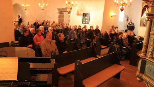 Dejlig festdag i kirkefællesskabet
