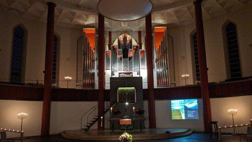 Ein Orgelkonzert im Herbst
