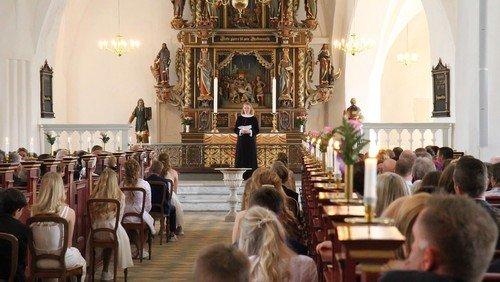 Tidspunkter for konfirmationer i Sankt Nikolai Kirke 2020