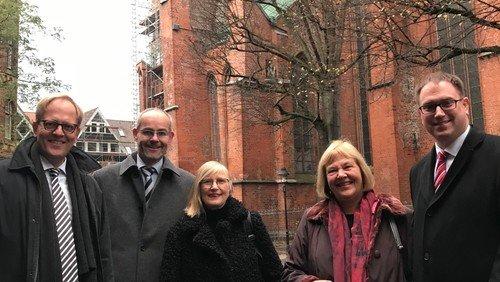 Bund fördert Sanierung der Marienkirche mit 14 Millionen Euro