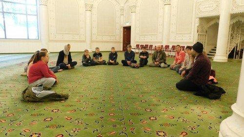 Besuch der Omar Moschee in Berlin