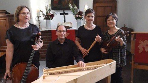 Ausschnitte aus einem Benefizkonzert zugunsten der neuen Orgel in Schönefeld