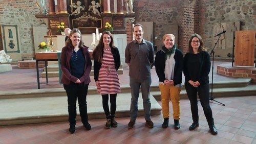 Wir begrüßen 5 neue Gemeindepädagoginnen