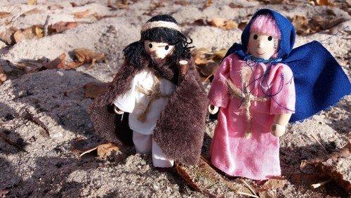 Update: Zeitung berichtet über Maria und Josef unterwegs