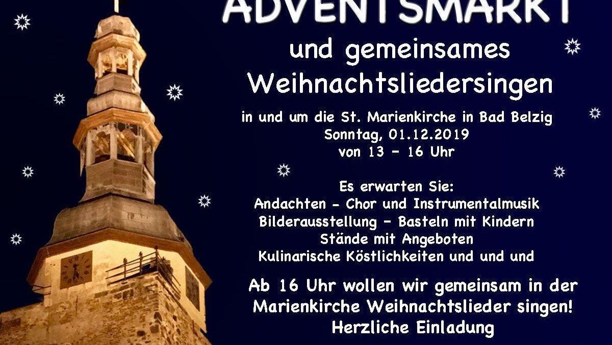 Adventsmarkt in und um die Marienkirche