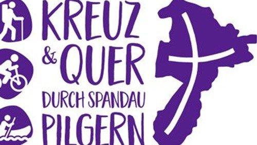 Logo für den Spandauer Pilgerweg