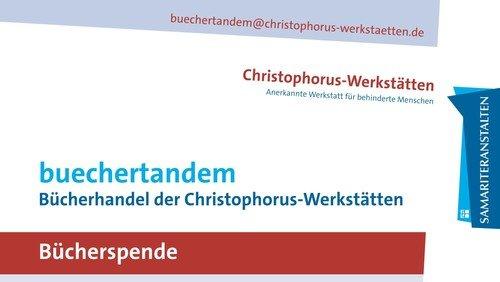 Bücherspenden für die Christophorus-Werkstätten