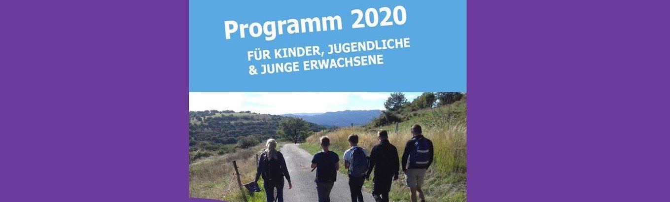 Jahresprogramm für Kinder, Jugendliche und junge Erwachsene