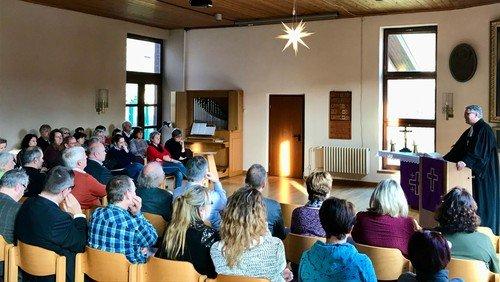 Gottesdienst zur Verabschiedung des Amtsleiters Hendrik Fries