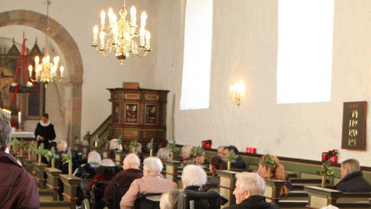 Solgårdens gudstjeneste flyttede til Bejstrup