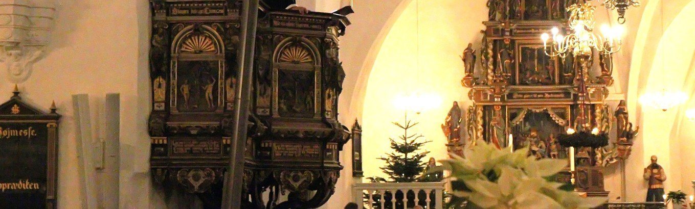 Smuk juleaften i kirken