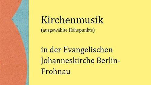 Jahresflyer Kirchenmusik 2020