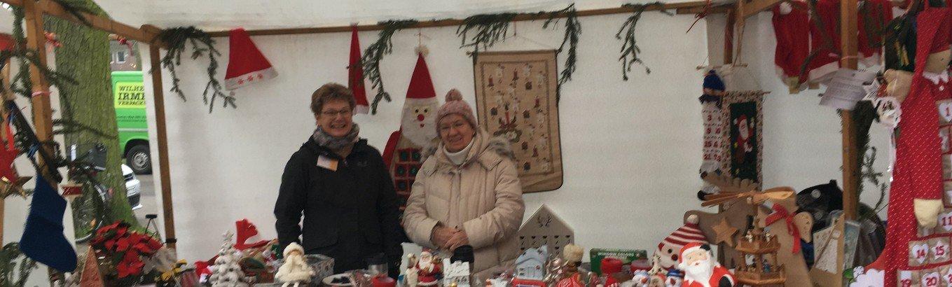 Weihnachtsmarkt mit Topspendenergebnis