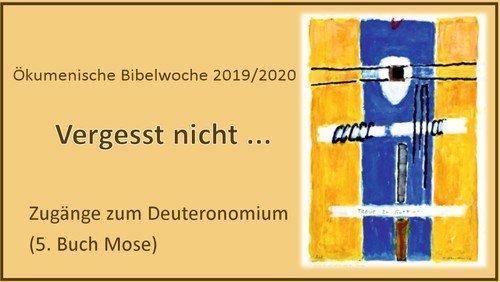 Ökumenische Bibelwoche 2020 in Heiligensee
