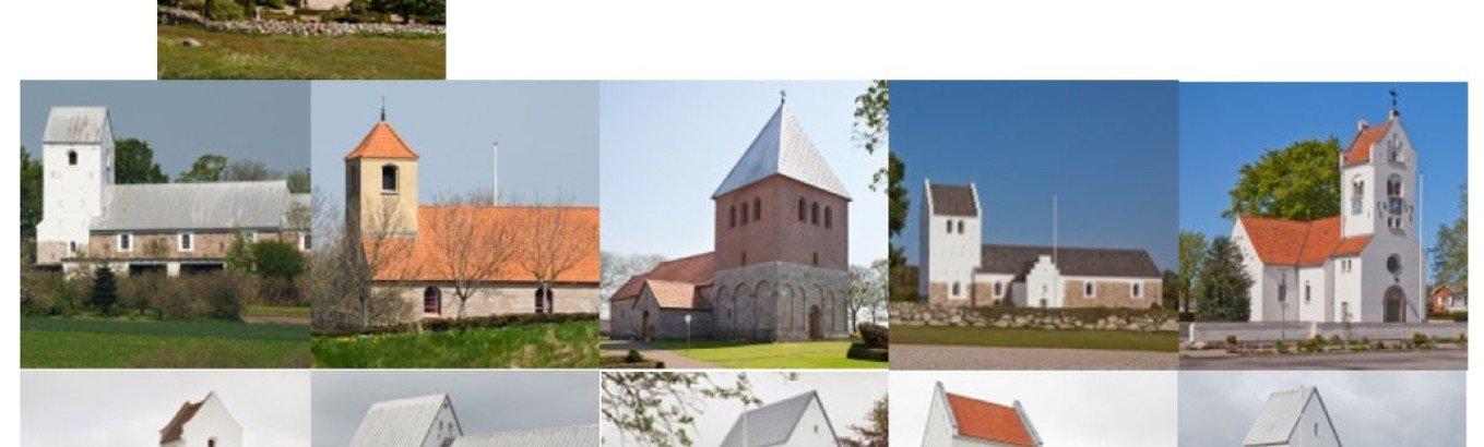 Ny oversigt over gudstjenester i 9690-området for januar-april