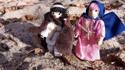 Maria und Josef unterwegs - Neuigkeiten vom Projekt der Christenlehregruppen