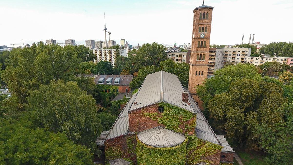 St. Jacobi-Kirche in Kreuzberg wird saniert