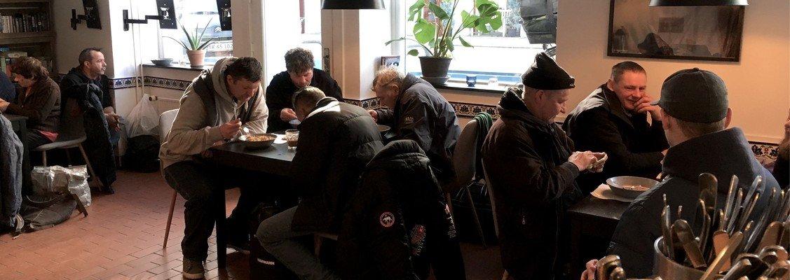 Domkirkens spise- og værested for hjemløse søger ny kollega med socialfaglig baggrund