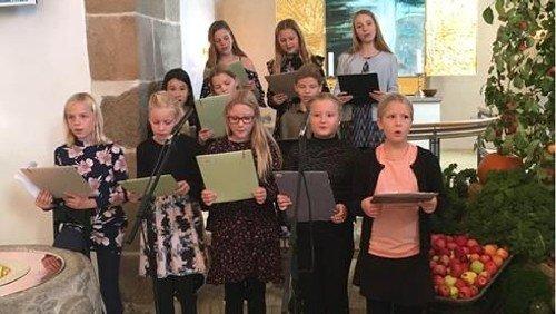 Børnekor ved Farsø Kirke