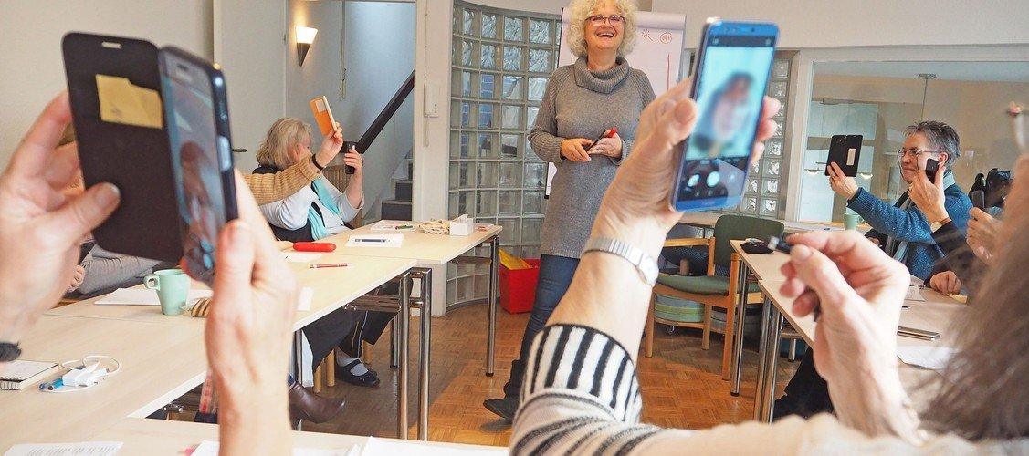 Ab 16. März 2020 Neuer Android-Smartphone-Kurs für Senioren