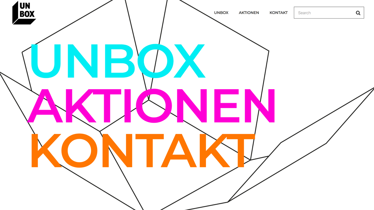 UNBOX ist online