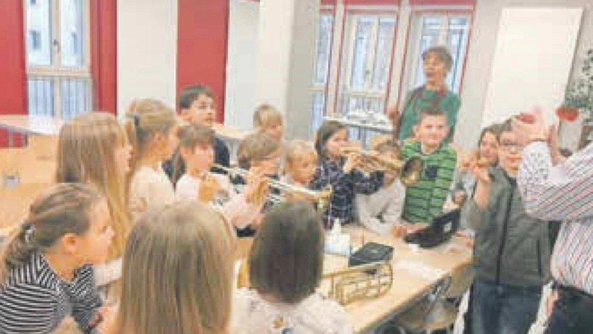 Große Begeisterung beim Schnuppertag zur AG-Posaunenchor