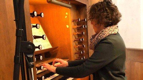 CD indspillet på Nikolais orgel