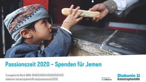Passionszeit 2020 - Die unermessliche Not lindern - Diakonie-Katastrophenhilfe